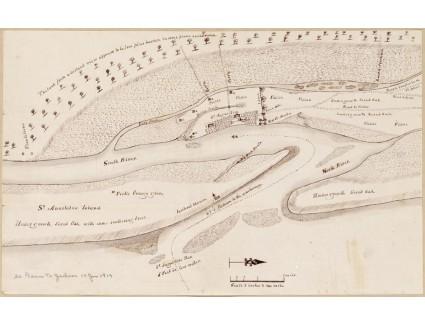 St. Augustine, ca.1819, Birch