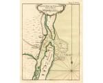 St. Augustine Harbor, 1764, Bellin