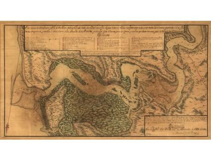 St. Johns River Area, 1791, de la Rocque