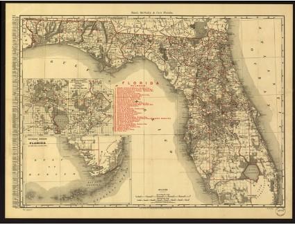 Florida, Rand McNally