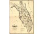 Florida, 1839, 'Seat of War,' US Army, Mackay & Blake