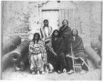 Native Americans held at the Fort