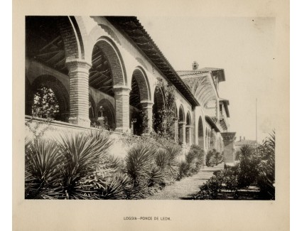 Ponce de Leon hotel; Loggia