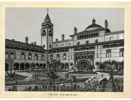 Ponce de Leon Hotel, Courtyard