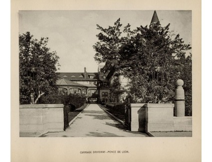 Ponce de Leon Hotel; Carriage Driveway